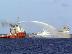 Vietnam Says China Fired Water Cannon, Rammed Ships Near Oil Rig