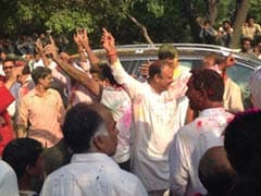 Victory Celebrations in Muzaffarnagar, Even Amid Ban