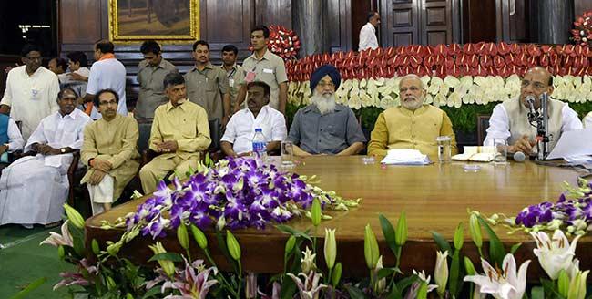 BJP + 29 Parties = National Democratic Alliance