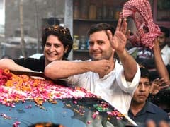 Elections 2014: Ahead of Narendra Modi's Visit, Rahul Gandhi Holds Roadshow in Amethi