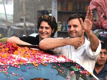 Elections 2014: Ahead of Narendra Modi's Visit, Rahul Gandhi Holds Roadshow in Amethi