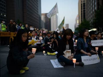 South Korea Names Three Ferry Disaster 'Martyrs'