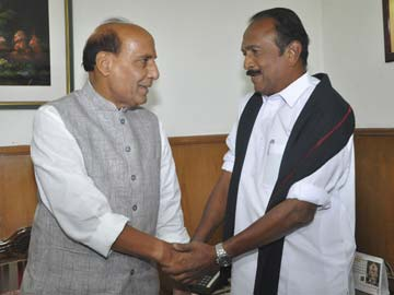 BJP Ally Vaiko Meets Narendra Modi, Says Rajapaksa Should Not be Invited for Swearing-In