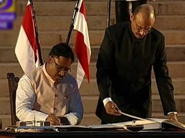 Minister of State: Vishnu Deo Sai