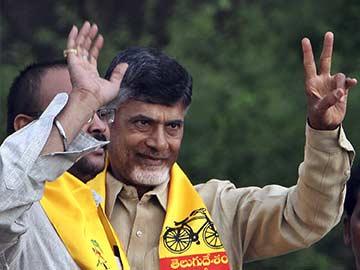 New Andhra Pradesh Chief Minister Chandrababu Naidu Vows to be 'Coolie No One'