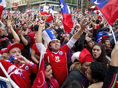 Chile Rioters Vandalise Buses After World Cup Win