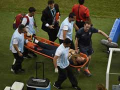 England Physiotherapist Dislocates Ankle During Goal Celebration
