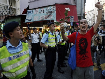 Hong Kong Holds March to Remember Tiananmen