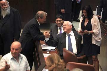 Israel Chooses Veteran Hardliner as President