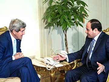 John Kerry Discusses Brotherhood Crackdown, Iraq Crisis with Egypt's Abdel Fattah Sisi