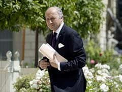 France's Foreign Minister Mocked for Weather Man Pose
