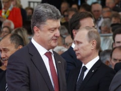 Russian, Ukrainian Leaders Meet in Normandy