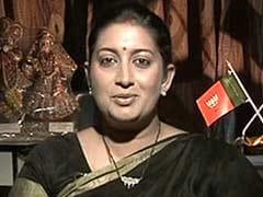 Smriti Irani Meets Gujarat Chief Minister Anandiben Patel, Discusses Education Programmes