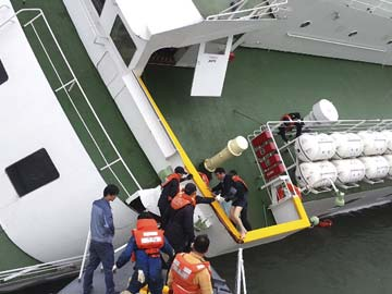 First Damages Suit Filed Over South Korea Ferry Disaster