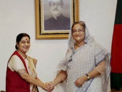 Bangladesh Goes All Out to Please India's Foreign Minister Sushma Swaraj