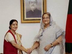Sushma Swaraj Heads Home After Successful Bangladesh Visit