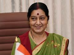 Sushma Swaraj Holds Talks with Bangladesh Counterpart