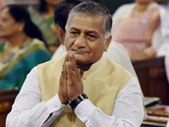 General VK Singh Delivers Huge Controversy for Government over Next Army Chief