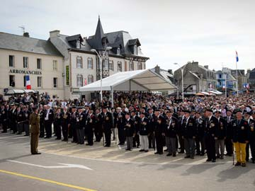 Missing British Spotted at D-Day Events in France