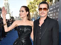 Brad Pitt Adds Support to Angelina Jolie at Warzone Rape Meeting