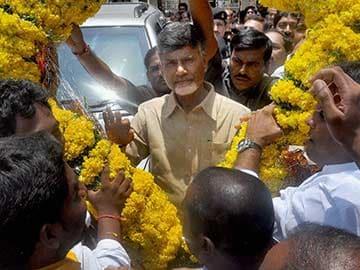 Chandrababu Naidu to Take Oath as New Andhra Pradesh Chief Minister Today