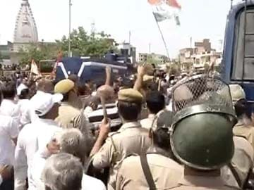 Delhi Congress Leaders Detained Over Protests Against Power and Water Crisis
