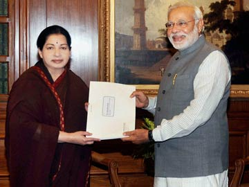 'Will See if the Need Arises': Jayalalithaa on Supporting NDA
