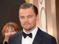 Leonardo DiCaprio Jets Into Rio for World Cup