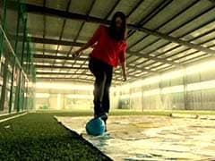 This Wonder Woman Can't Kick a Football But Scores Goal After Goal Anyway