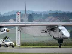 Solar Plane, Set to Fly Around World, Makes Inaugural Flight in Switzerland