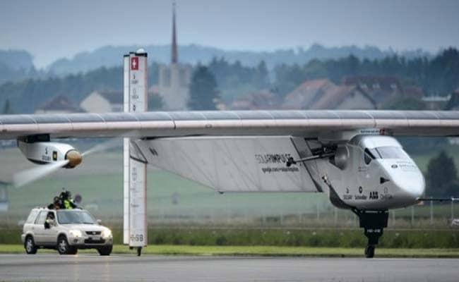 Solar Plane, Set to Fly Around World, Makes Inaugural Flight in Switzerland