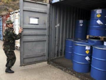 Last Dangerous Chemicals Must Leave Syria: Envoy