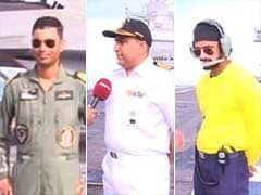 The Men Who Lead INS Vikramaditya