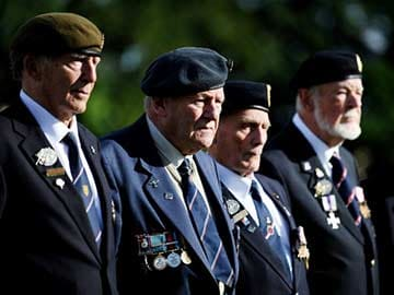 Bittersweet Memories as D-Day Veterans 'Come Home'