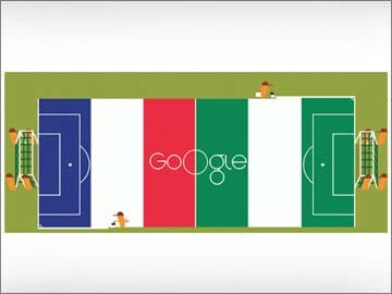 Google Doodle Paints the Field Ready for France Vs Nigeria ...