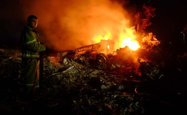 Malaysia Airlines Jet Explodes Over Ukraine; Struck by a Missile, Officials Say