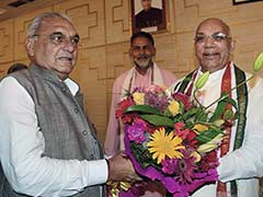 Kaptan Singh Solanki Sworn in as New Haryana Governor