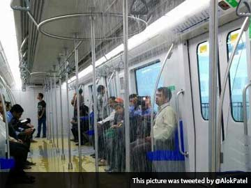 It Rains in Mumbai, Pours in Metro, Goes Viral on Twitter