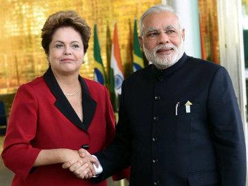 PM Modi Meets Brazilian President Dilma Rousseff; Three Bilateral Agreements Inked