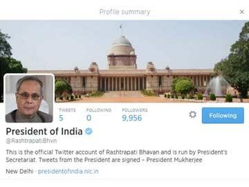 President Makes Debut on Twitter