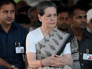 Sonia Gandhi Charges Government with Witch-Hunt over Tax Notices