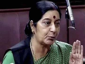 No Gaza Discussion, Israel and Palestine Both Friends: Sushma Swaraj