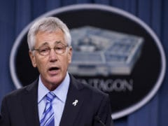 United States Aware of Russian, Iranian Roles in Iraq: Chuck Hagel
