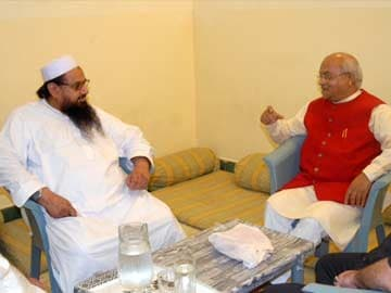 Row in Parliament over Journalist's Meeting With 26/11 Mastermind Hafiz Saeed