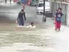 Heavy Rain Disrupts Normal Life in Gujarat
