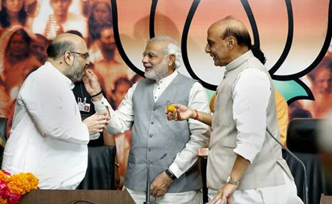 PM Narendra Modi Tightens Grip on BJP, Close Aide Amit Shah is Party Chief