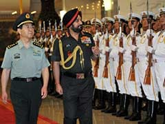 Army Chief General Bikram Singh Addresses China's National Defence University Cadets
