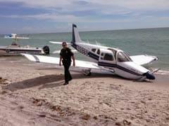 Plane Crash Lands on Beach, Killing Man And Injuring 9-Year-Old