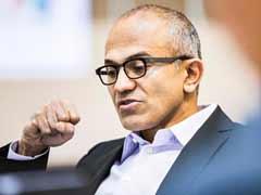 Microsoft's Nadella, Google's Schmidt Congratulate Pichai