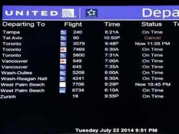 Israel Scrambles To Restore Foreign Flights To Tel Aviv